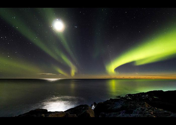 northern lights comet - photo #11