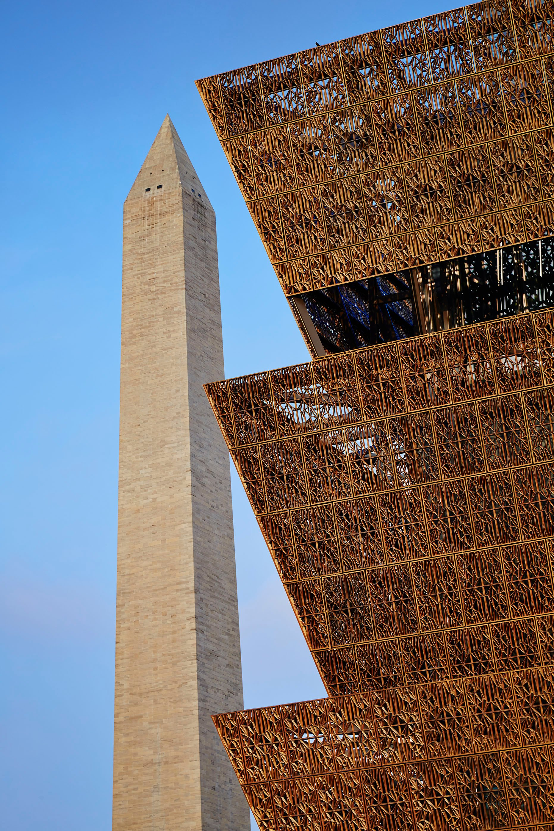 Adjaye Associates. Smithsonian National Museum of African American History and Culture, Washington D.C.,current. Courtesy of Adjaye Associates. Photo by Steve Hall, Hedrich Blessing.