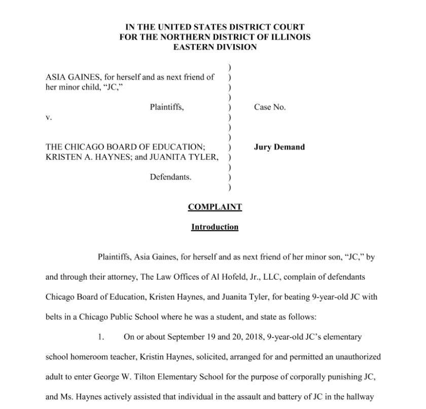Document: Read the full civil complaint