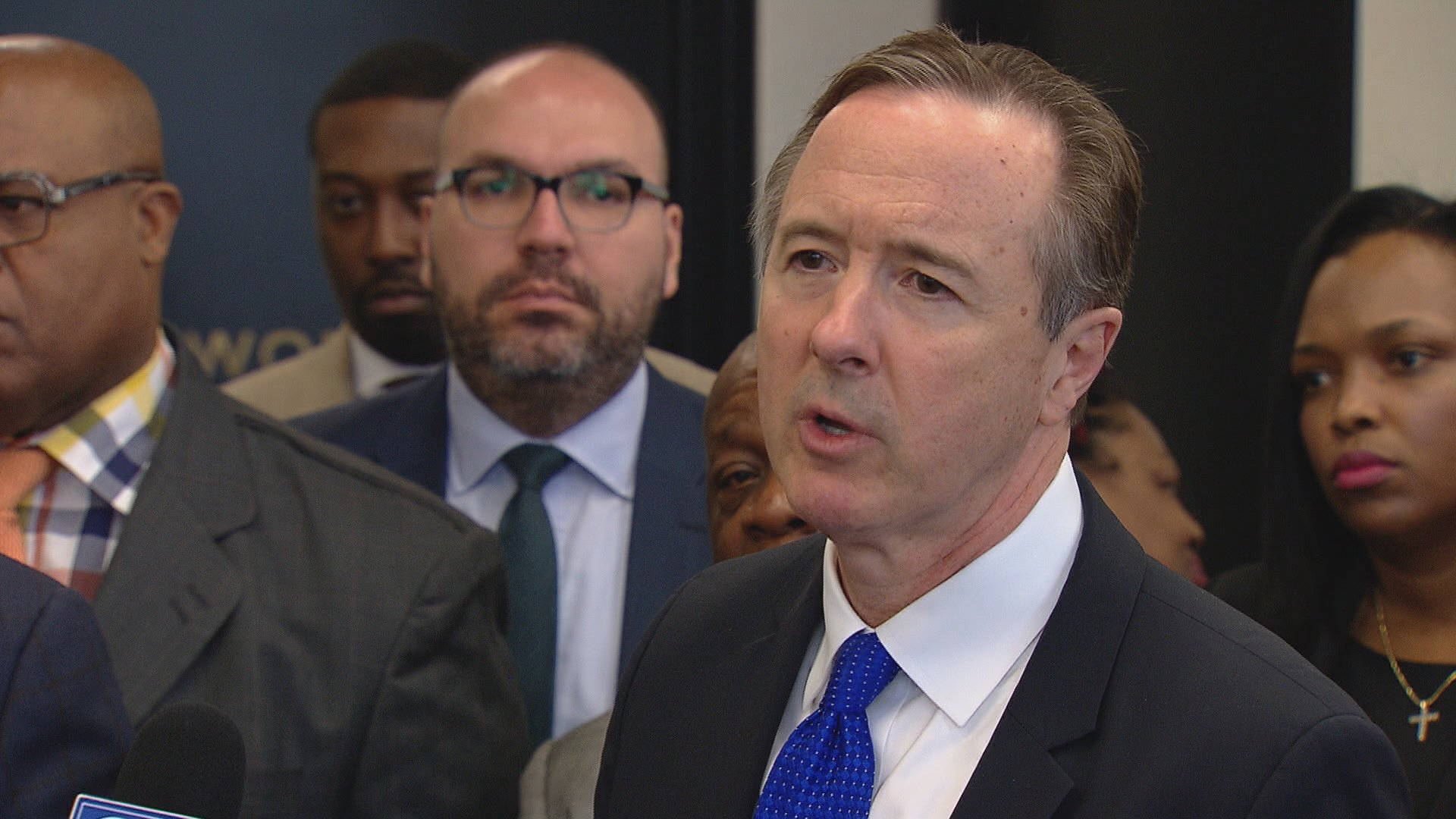 "Chicago Public Schools CEO Forrest Claypool blamed Gov. Bruce Rauner after the district announced it will distribute school budgets ""later than anyone can remember.""  (Chicago Tonight)"