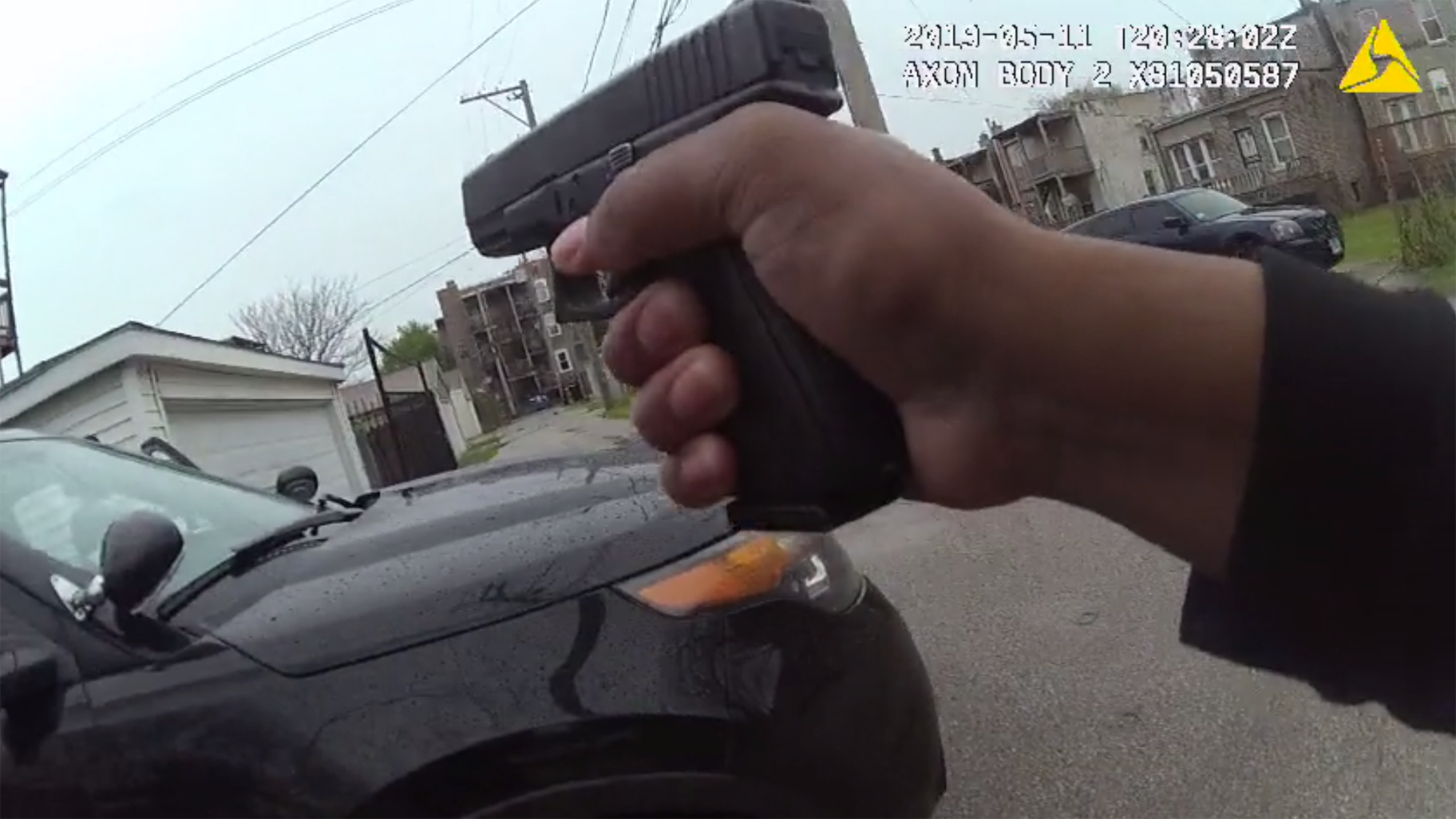 Body camera footage released last month shows the moments leading up to the fatal shooting of 26-year-old Sharell Brown by Chicago police officers. (Civilian Office of Police Accountability)