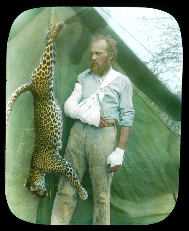 Taxidermist Carl Akeley. (Courtesy of the Field Museum)