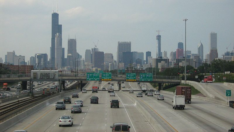 Starting Nov. 1, there will be no vehicle emissions testing facilities within the city of Chicago. (Zol87 / Flickr)