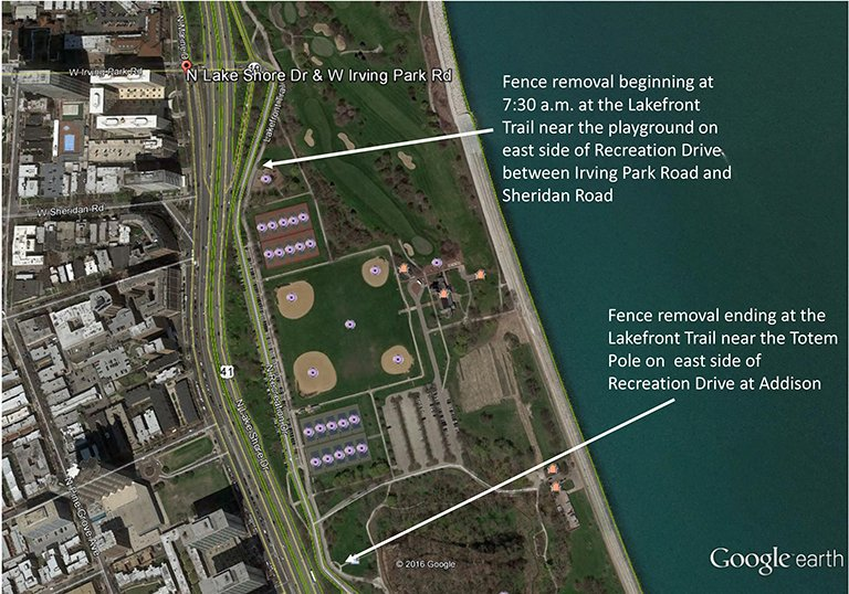 Section of Lakefront Trail on North Side Reopens with Improvements on