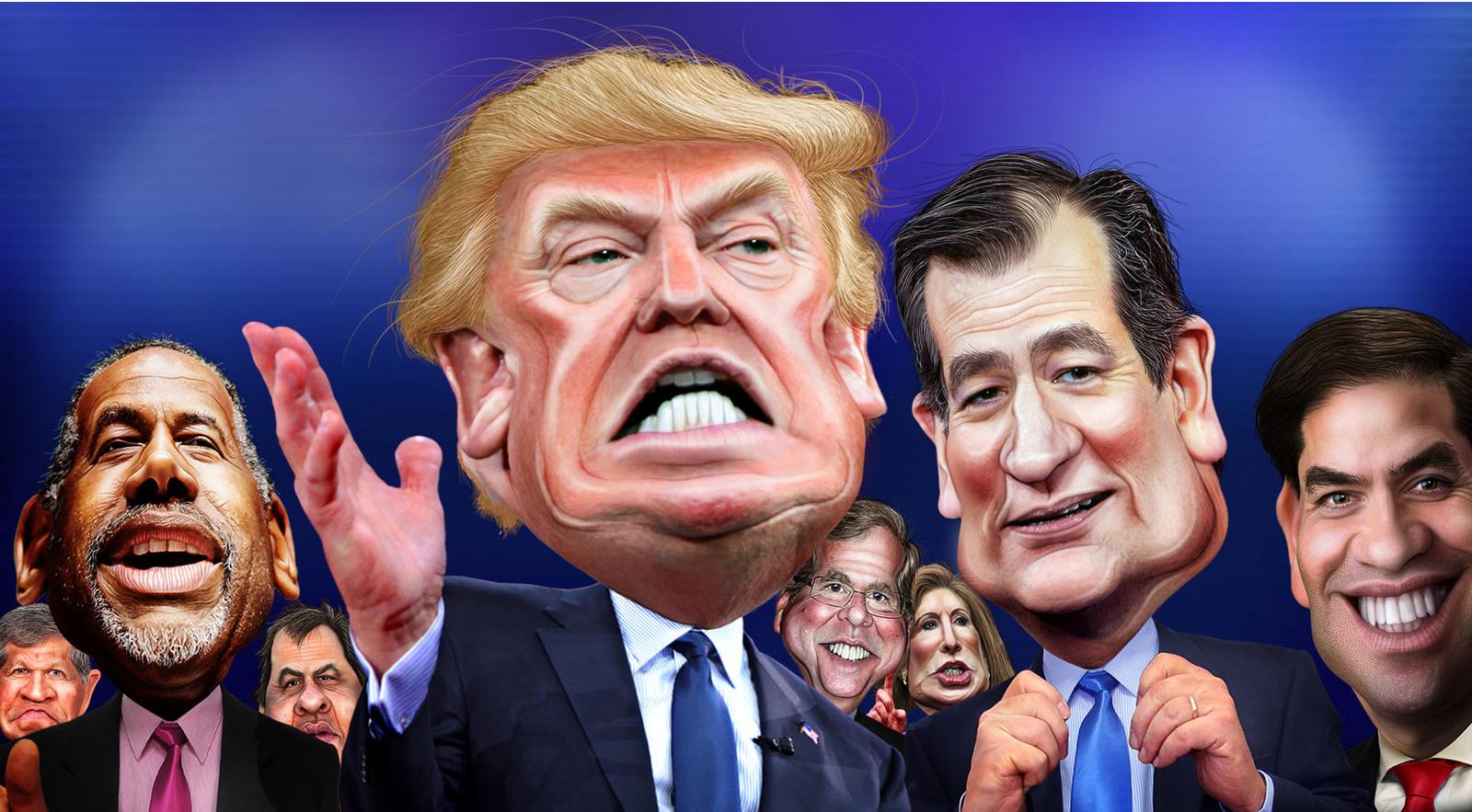 Jeb Bush mounts anti-Trump campaign