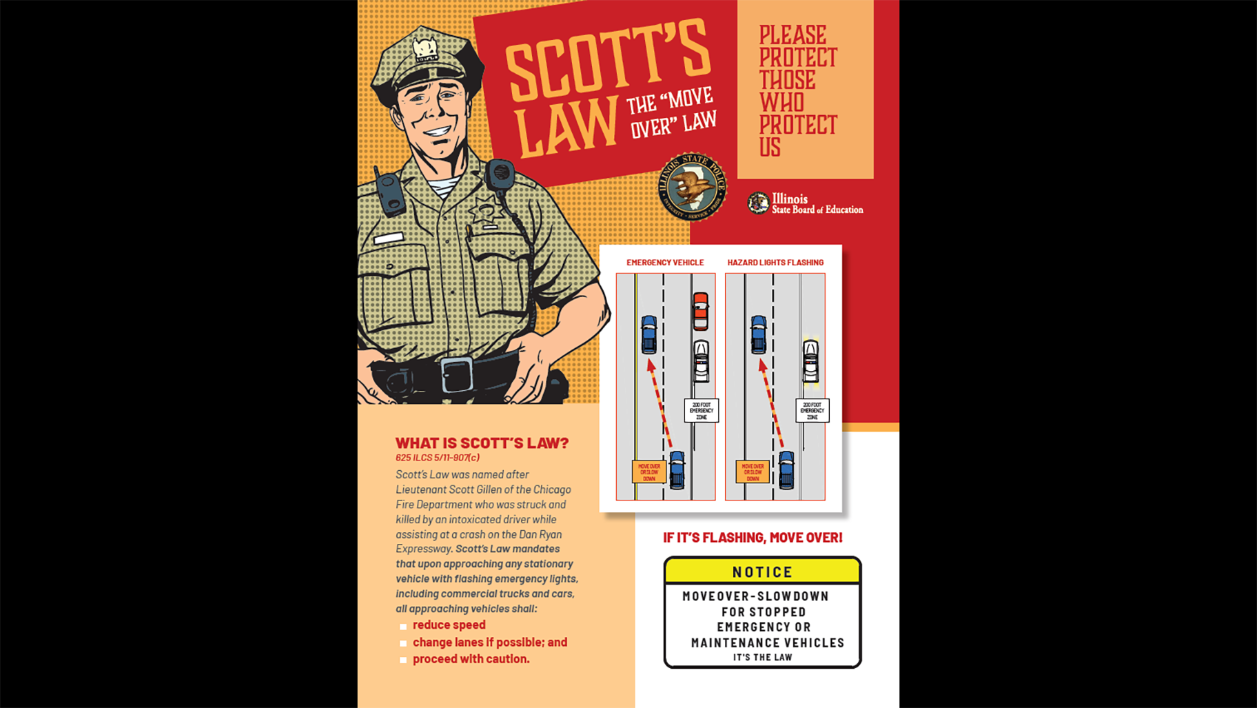 Scott's Law flyer (Illinois State Board of Education)