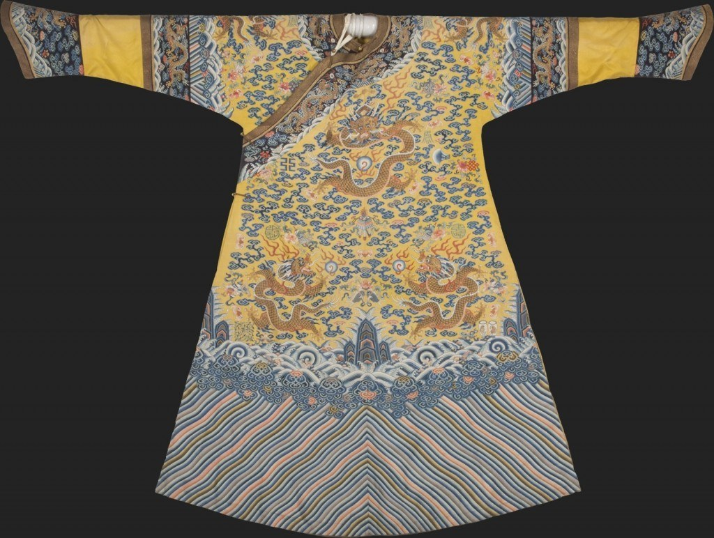 Imperial robe, Qianlong period (AD 1736-1795) China, Beijing (Courtesy of the Field Museum)