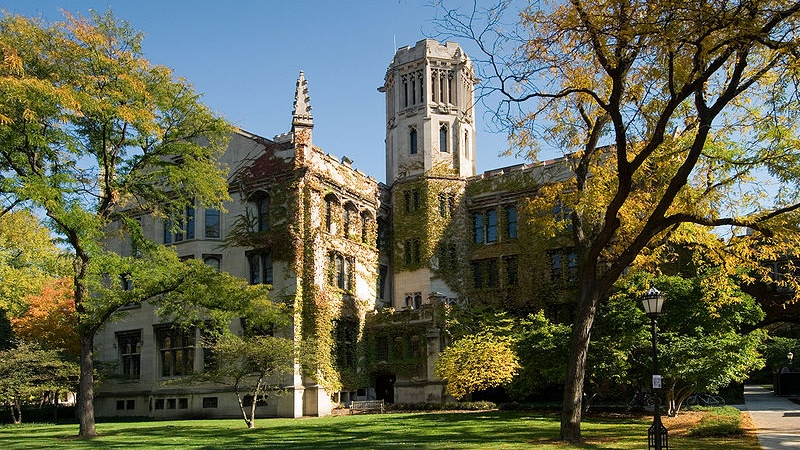 Julius Rosenwald Hall at the University of Chicago (Czmurio / Wikimedia Commons)