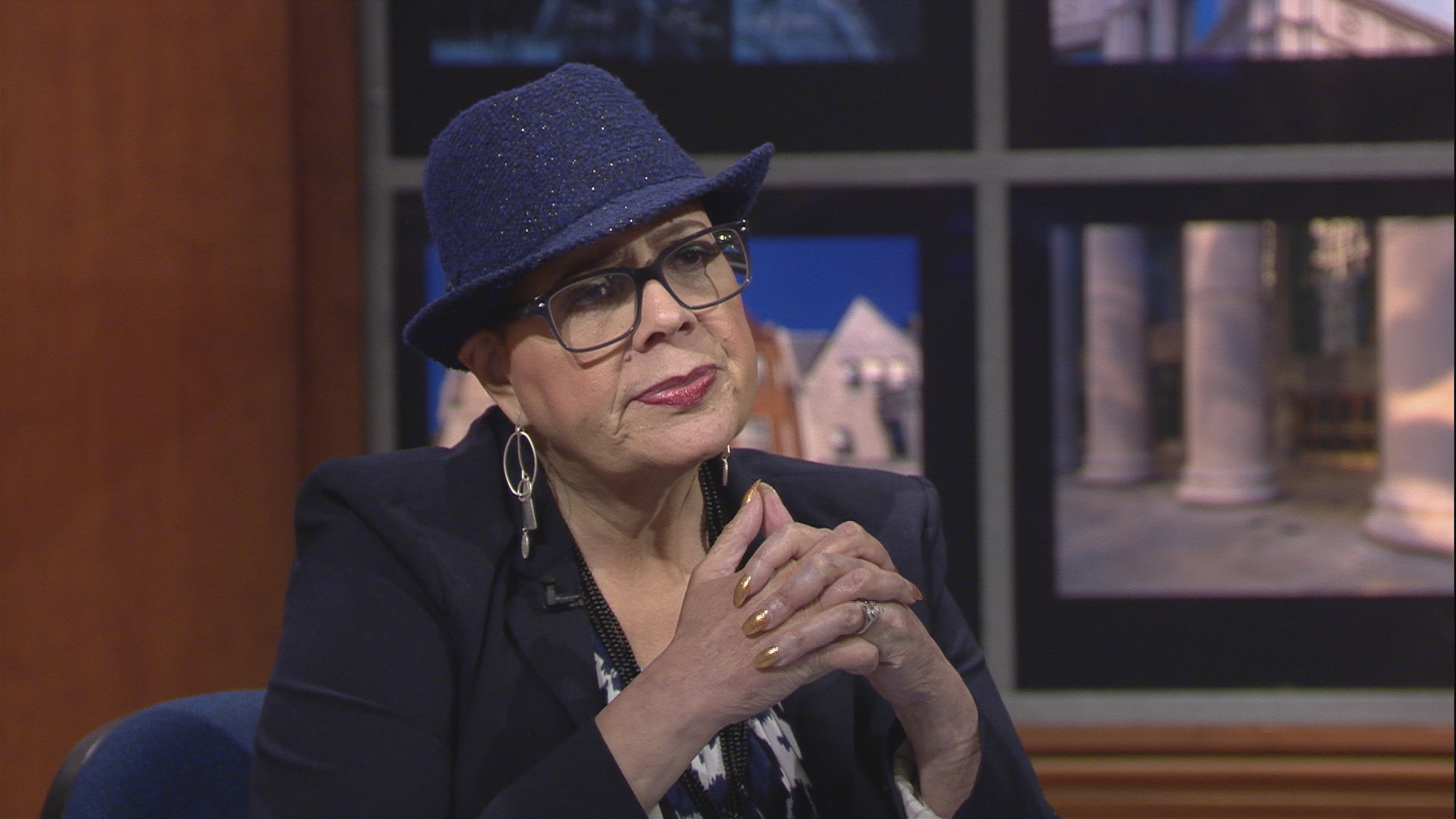 Karen Lewis appears on Chicago Tonight on Sept. 5, 2017.