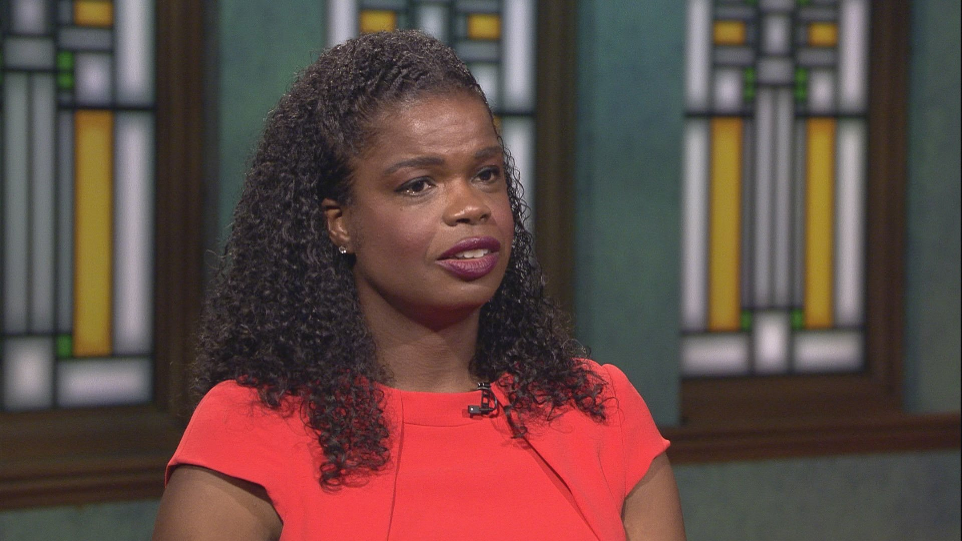 "Cook County State's Attorney Kim Foxx appears on ""Chicago Tonight"" on Sept. 17, 2019. (WTTW News)"
