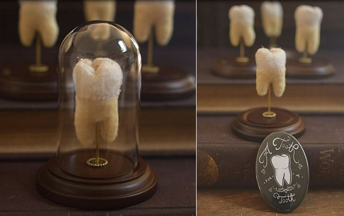 "Crooks' ""A Tooth for a Tooth"" project helped raise money for her medical bills. (Lana Crooks)"