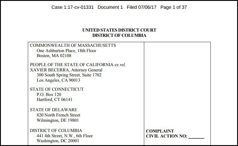 Document: Read the lawsuit filing