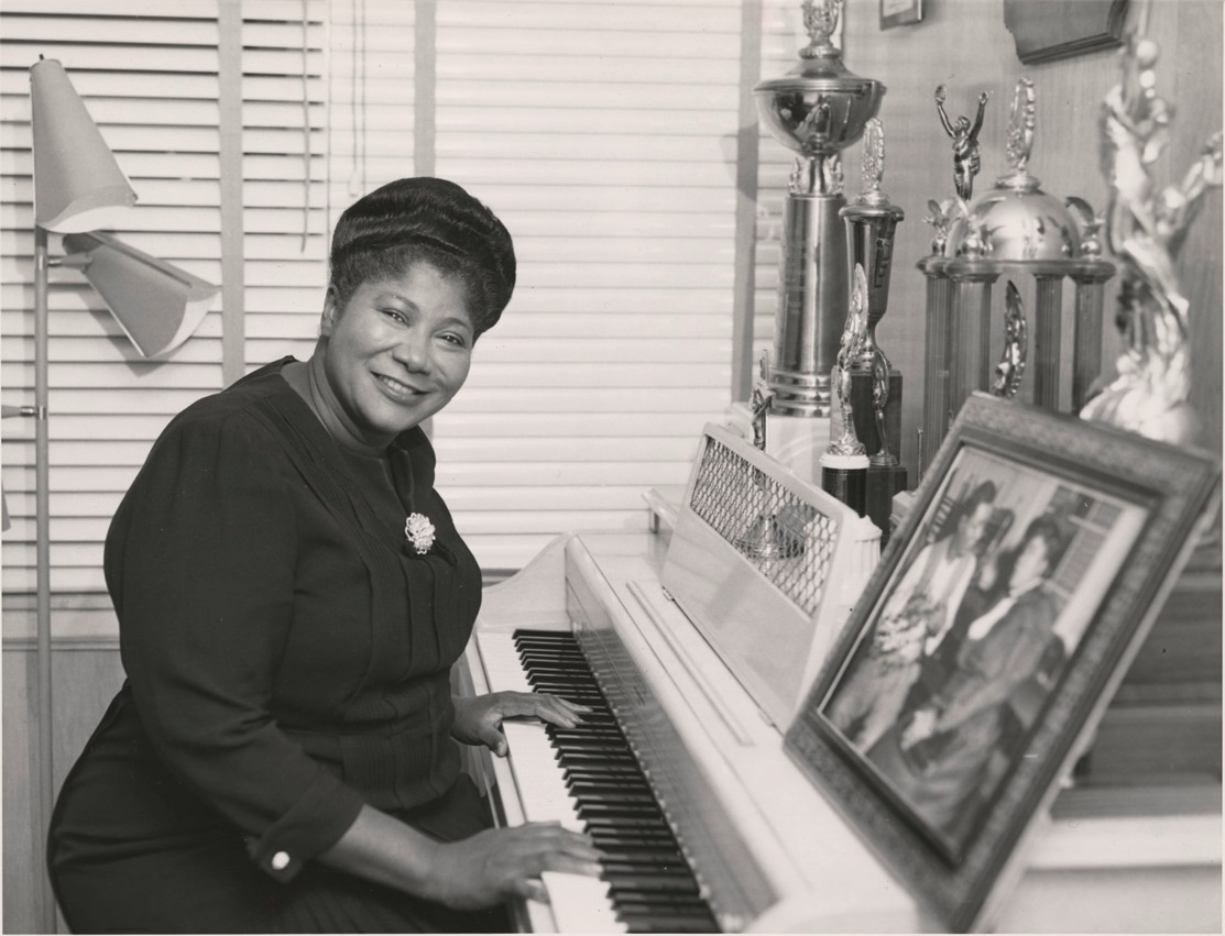 """The Queen of Gospel"" Mahalia Jackson is the subject of a panel discussion at the Chicago History Museum. (Chicago History Museum Facebook)"