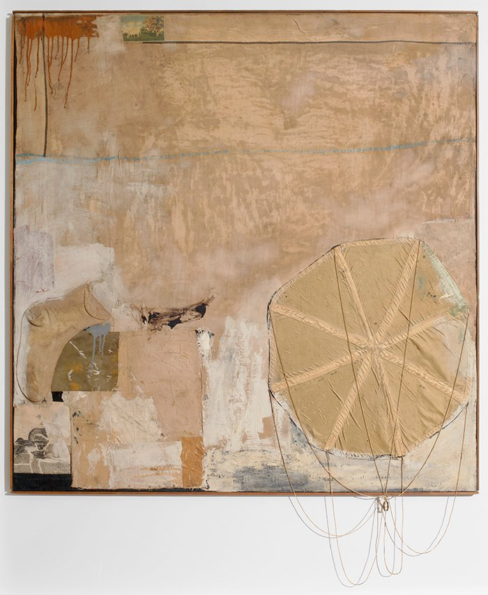 Robert Rauschenberg. Untitled, circa 1955. (The Art Institute of Chicago, Gift of Edlis/Neeson Collection)