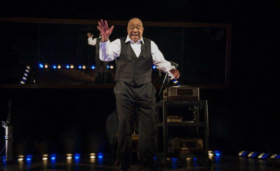 Barry Shabaka Henley in 'Satchmo at the Waldorf' (Michael Brosilow)