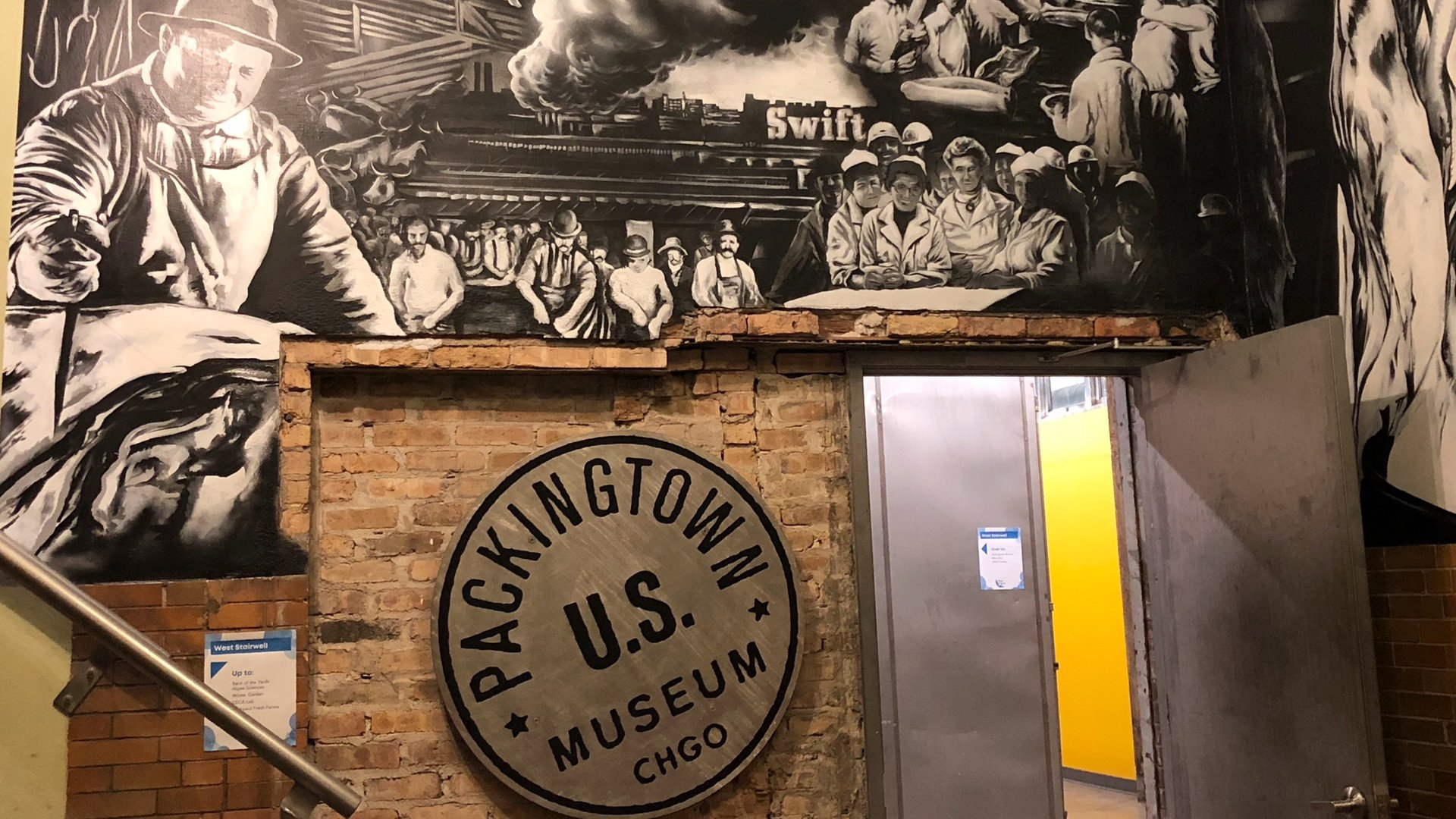 The Packingtown Museum's opening at The Plant is now on hold. (Patty Wetli / WTTW News)