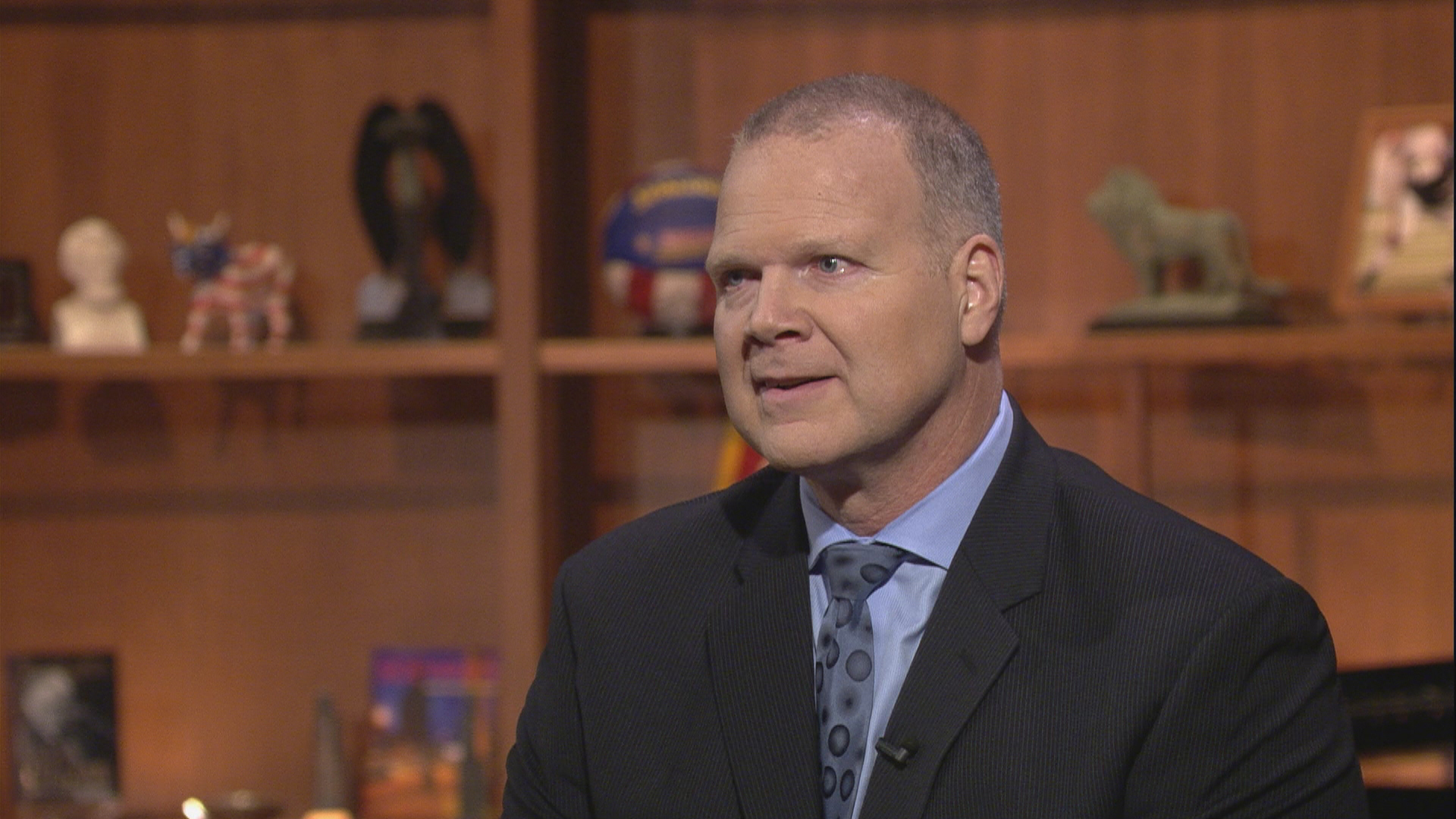 "State Superintendent of Education Tony Smith appears on ""Chicago Tonight"" on Jan. 11, 2018."