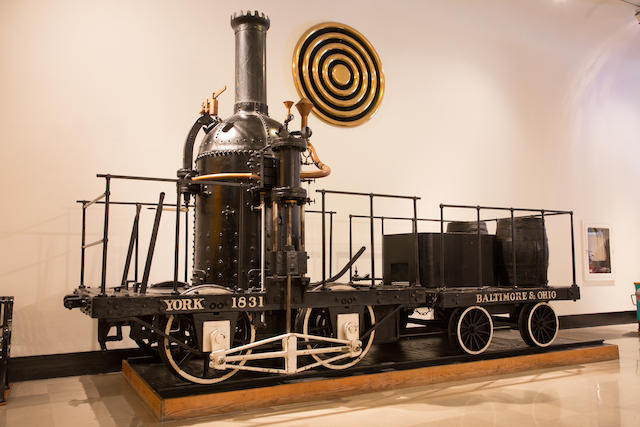 "A 1926 replica of an 1831 B&O ""York"" train - just one of five sold by the Musuem of Science and Industry last month. (Courtesy of the Museum of Science and Industry)"
