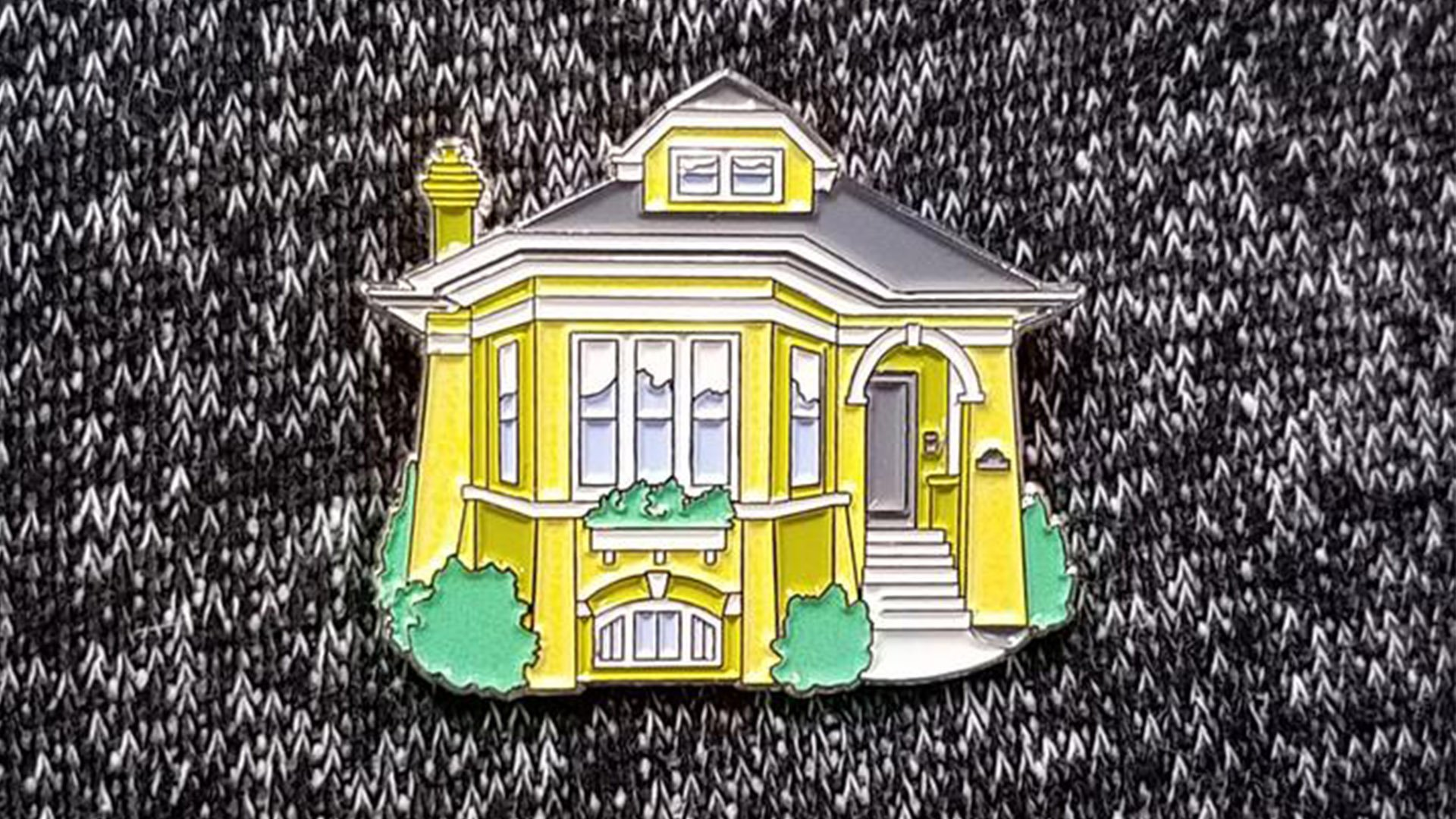 (Bungalow Pin / Cape Horn Illustration)