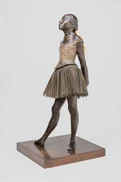 Edgar Degas. Little Dancer Aged Fourteen, c. 1879-1881. Private Collection.