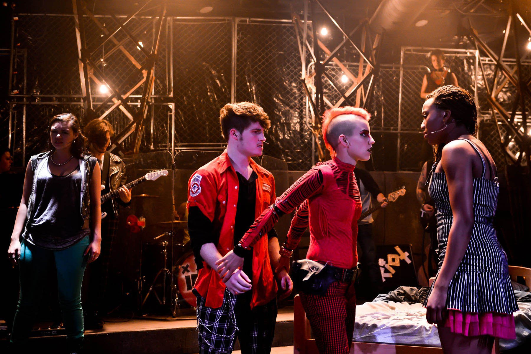 "Malic White as St. Jimmy in the Hypocrites' ""American Idiot."" (Evan Hanover)"