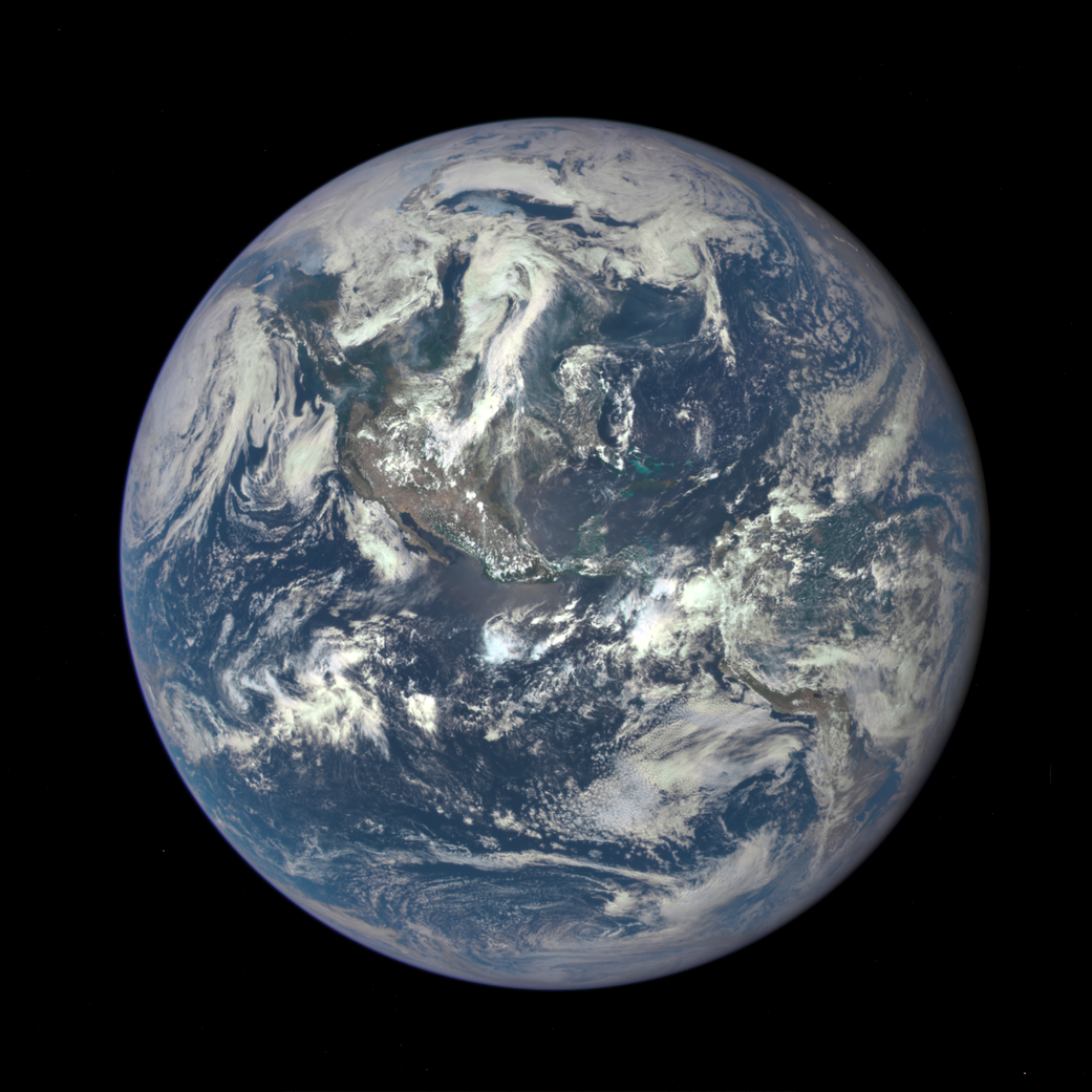 EPIC's July 6 image of Earth.