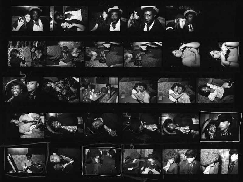 A contact sheet of photos by Abramson. (Michael L. Abramson)
