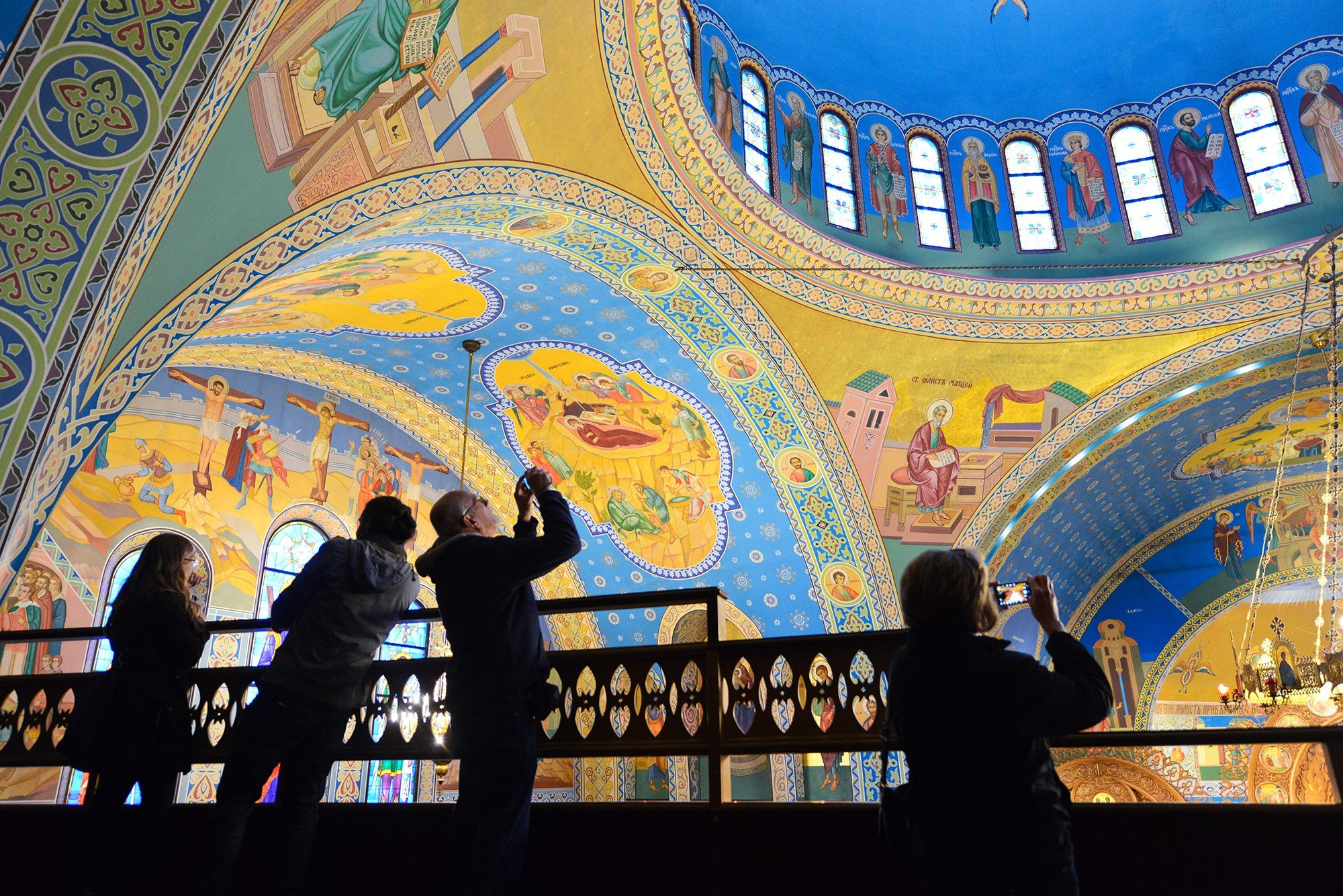 Sts. Volodymyr and Olha Ukrainian Catholic Church (Courtesy Eric Allix Rogers)