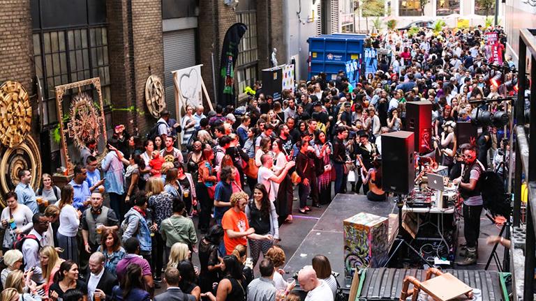 Art To 'Activate' Chicago's Urban Alleys