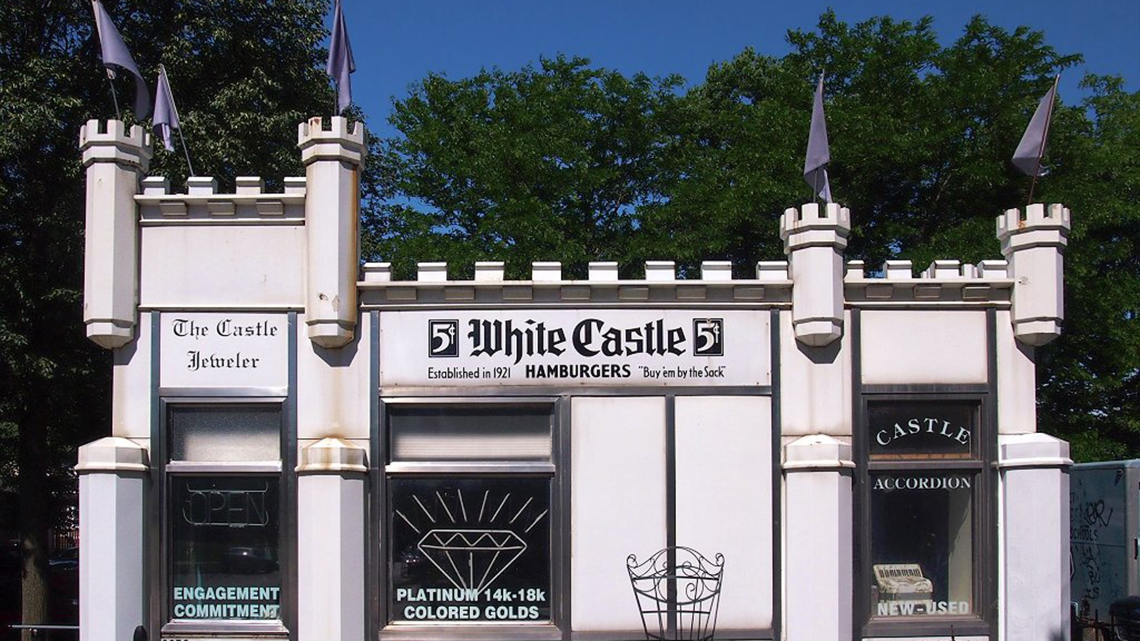 ask geoffrey: white castle inspiredchicago water tower