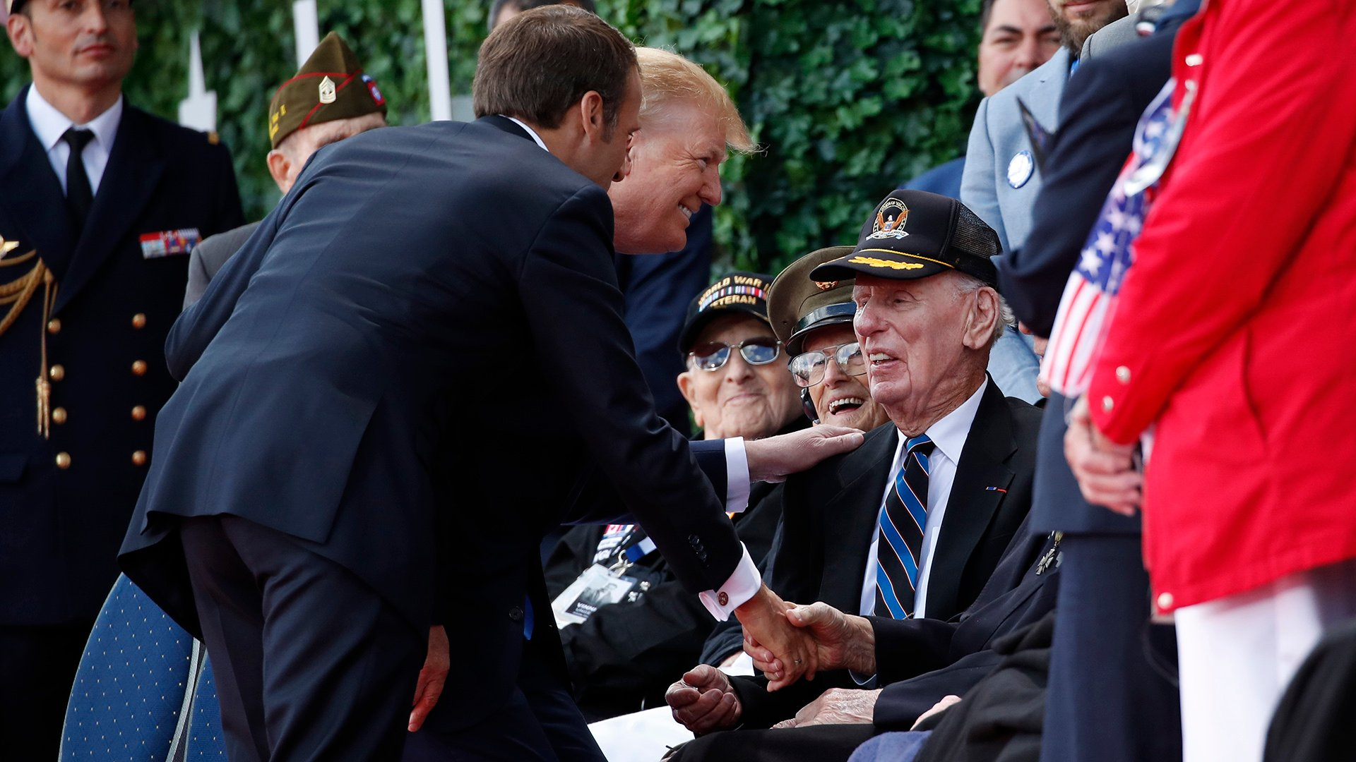 D Day 75 Nations Honor Veterans Memory Of Fallen Troops Chicago News Wttw