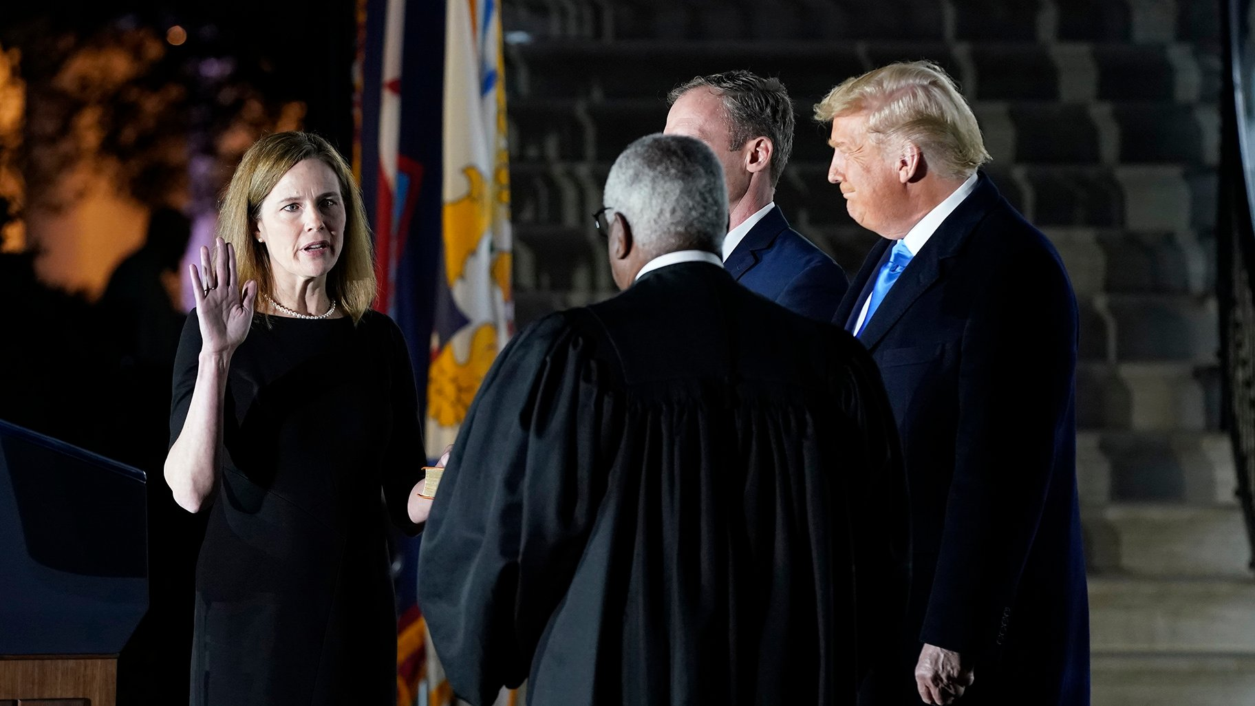 Amy Coney Barrett Confirmed As Supreme Court Justice In Partisan Vote Chicago News Wttw
