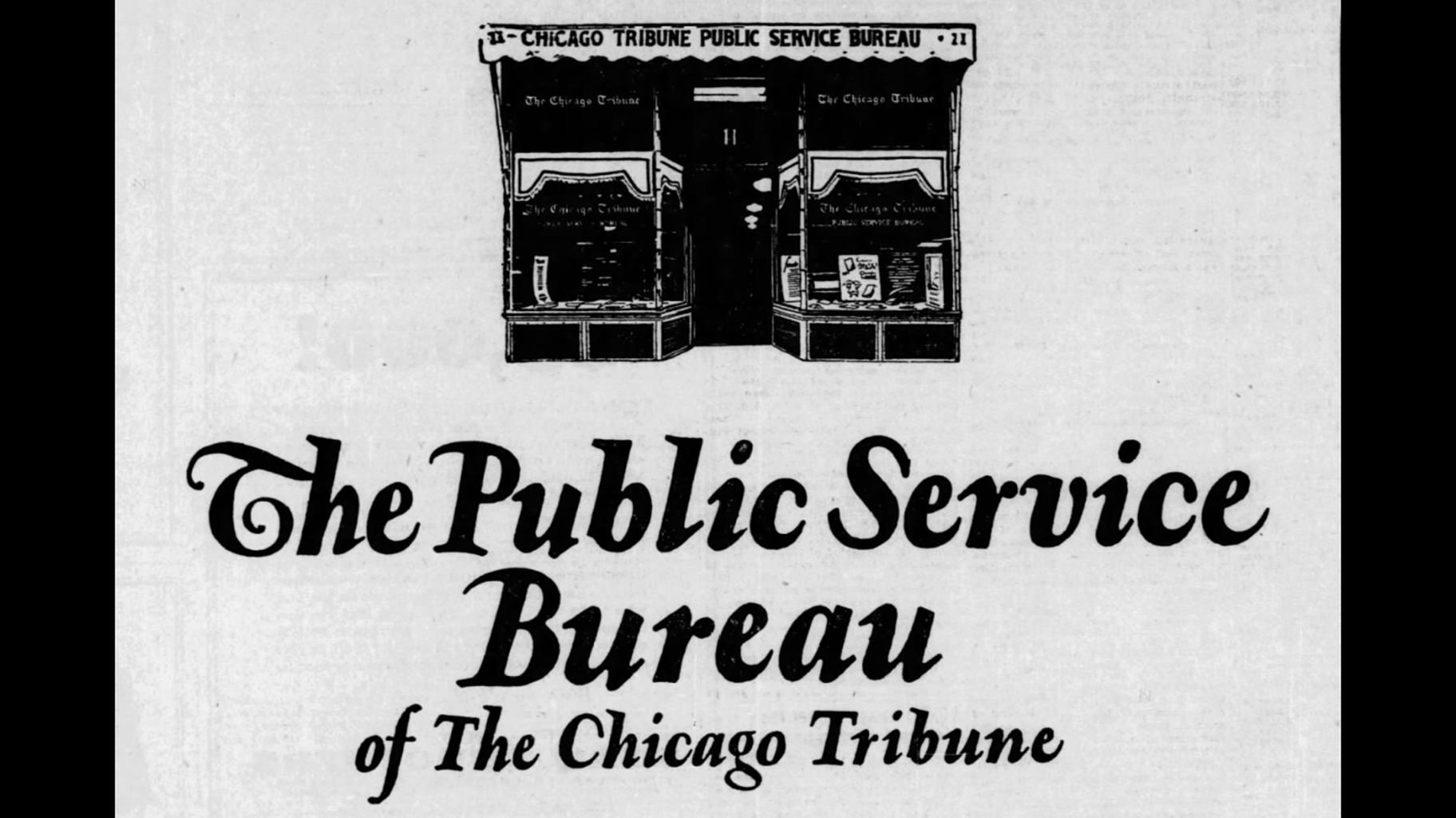 Ask Geoffrey: Chicago Tribune – The Original Google?