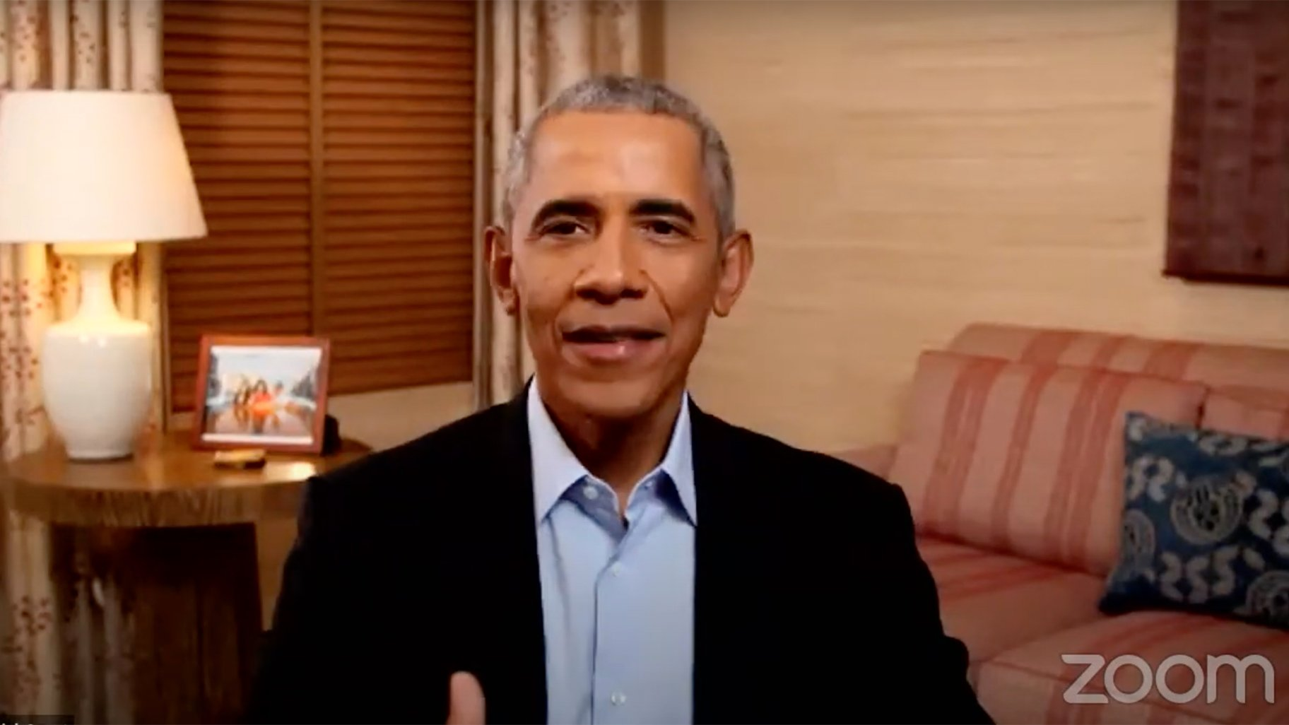 Barack Obama Surprises CPS Students During Virtual Event