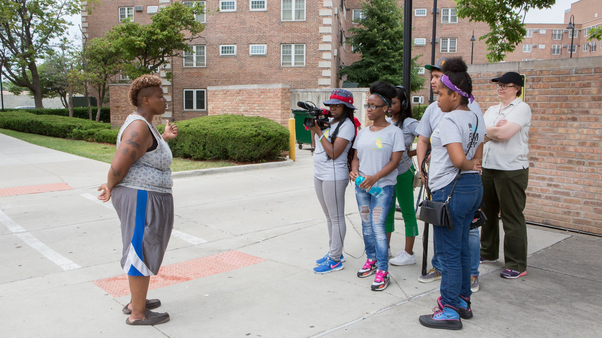 Documentary Project Turns The Camera On Girls In Public Housing