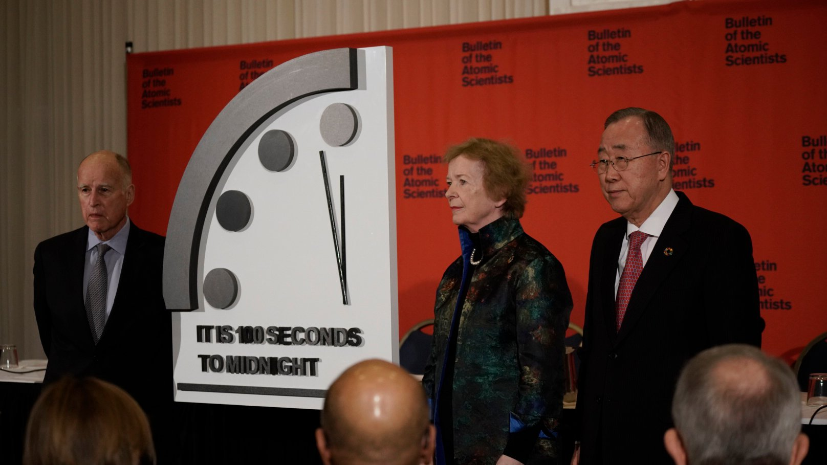 Doomsday Clock Moves 20 Seconds Closer To Midnight Chicago News