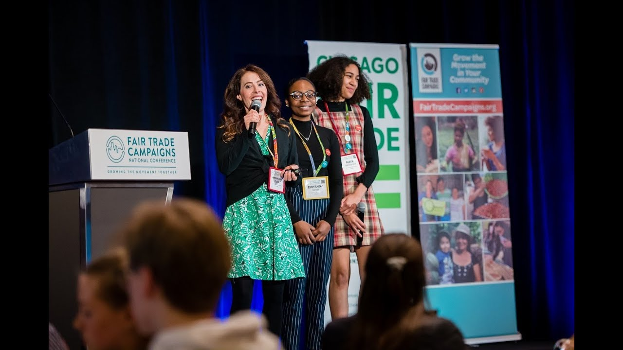 Teens Ditch Fast Fashion, Food For Fair Trade