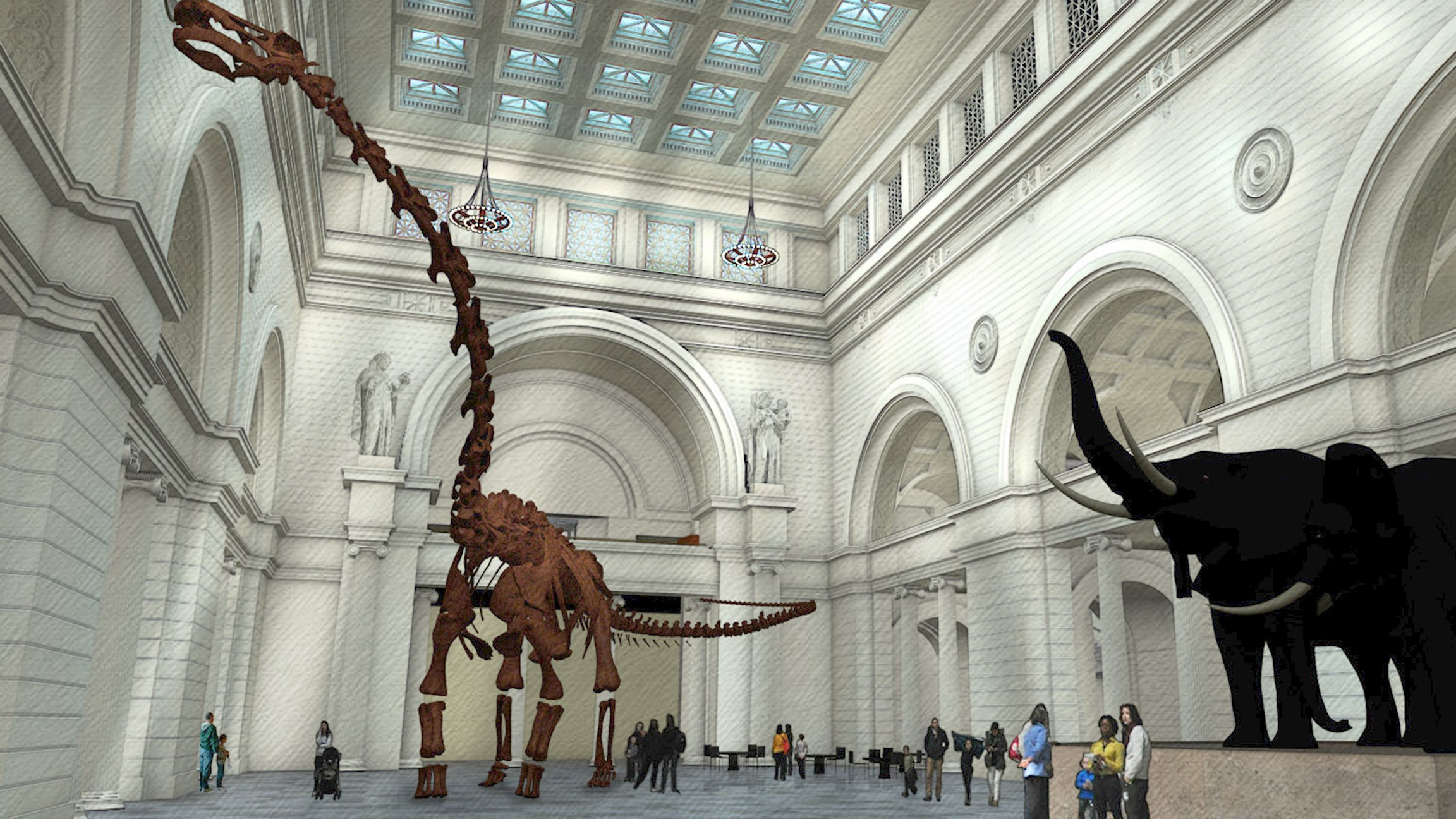 Photos World S Largest Dinosaur Coming To Field Museum
