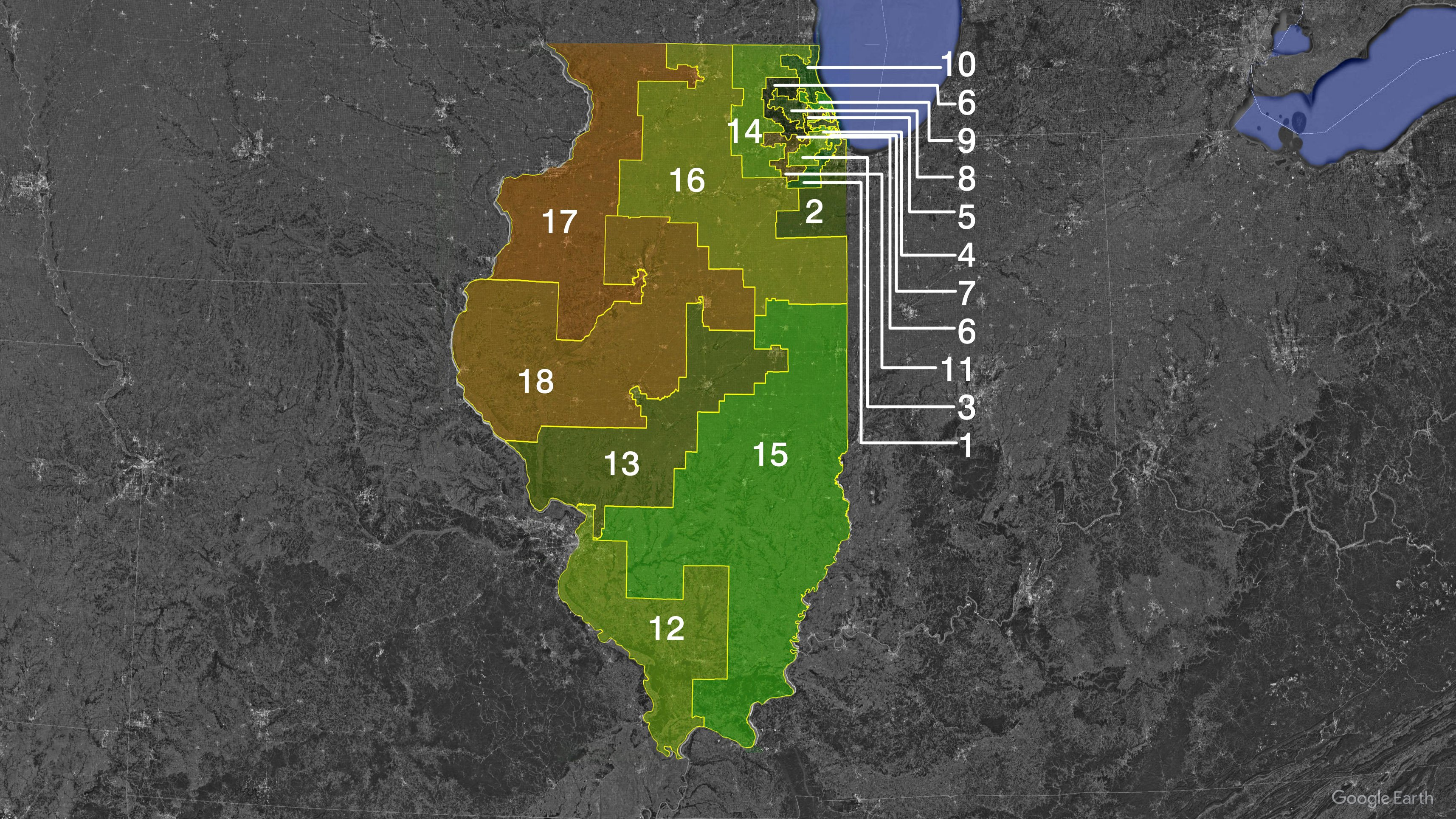 illinois 3rd congressional district - HD3429×1929