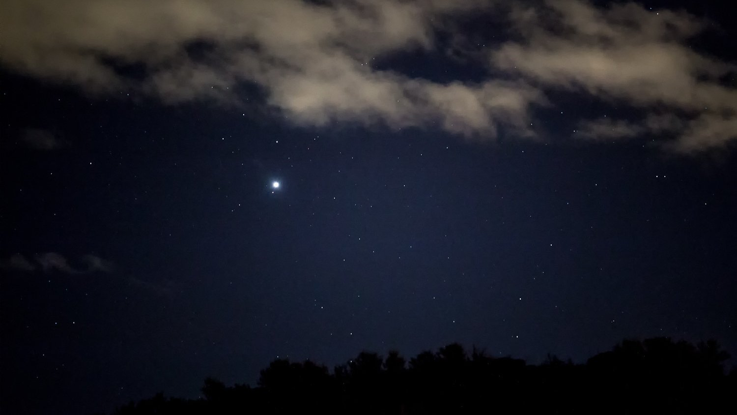 Five planets visible to the naked eye in Southern