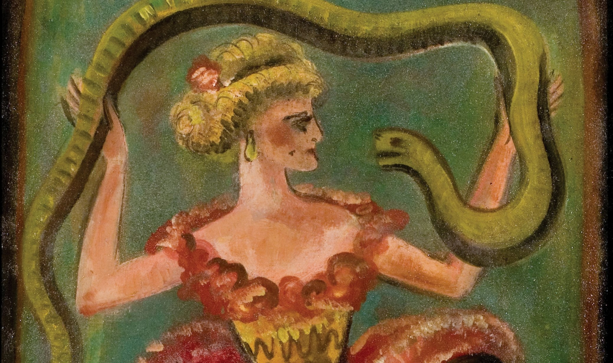 Weekend Events Around Town 114 116 Chicago Tonight  : Louis20Michel20EilshemiusSnake20DancerRicco20Maresca20Gallerylarge0 from chicagotonight.wttw.com size 2078 x 1232 jpeg 1861kB