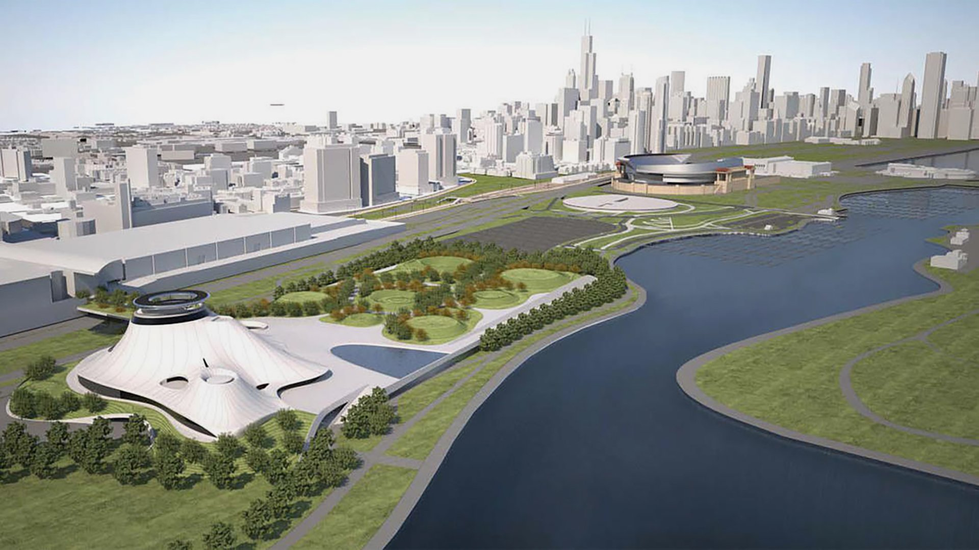 Chicago loses lucas museum to california chicago tonight for Star wars museum california