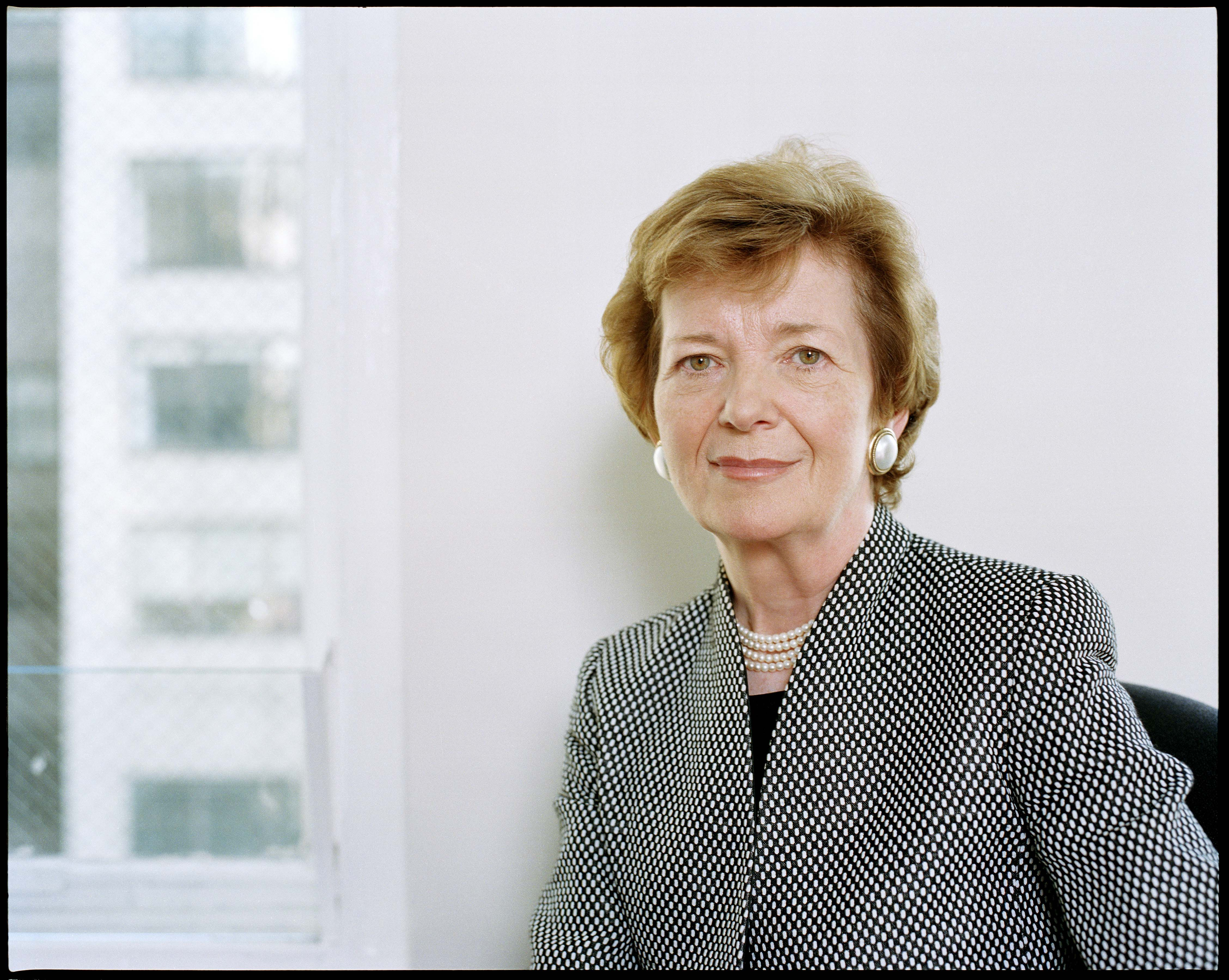 Mary Robinson president