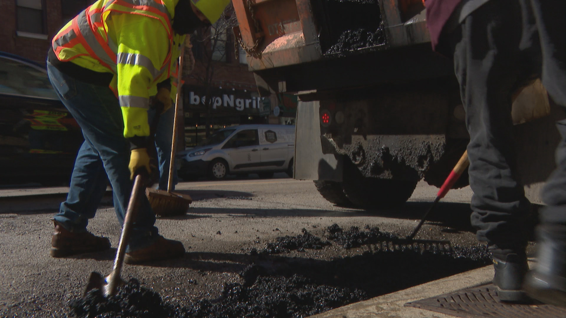 City Beefs Up Pothole-Patching Crews Following Wild Winter