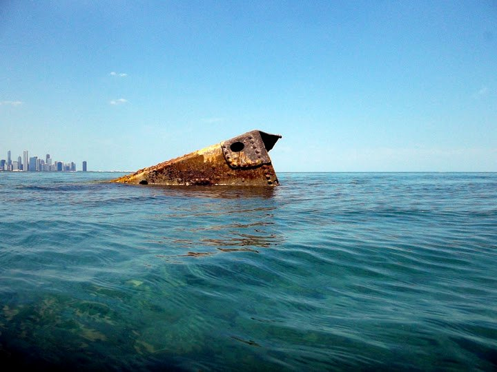 Shipwreck On Chicago S Shore Line Chicago Tonight Wttw