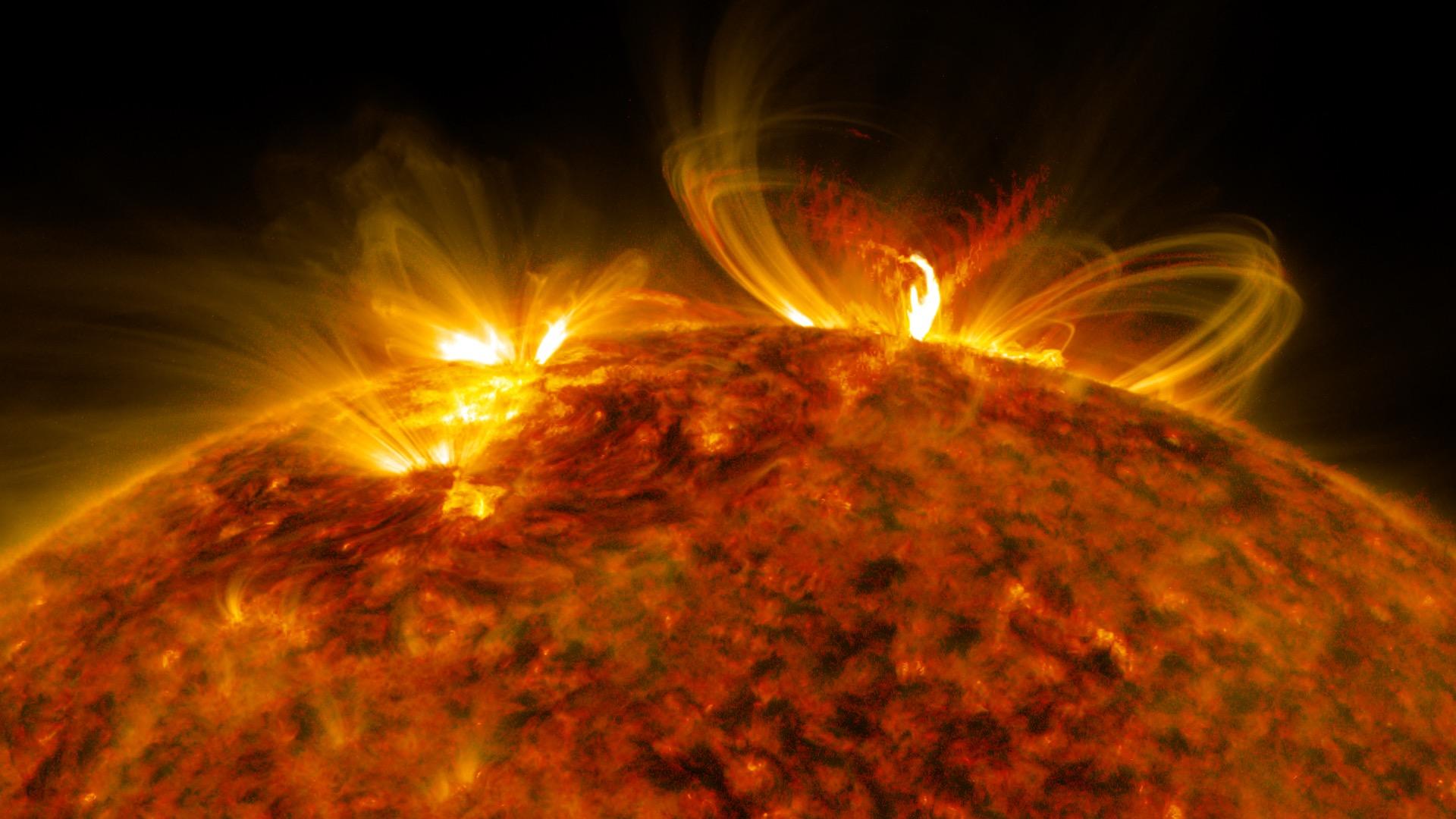 sun system solar flare - photo #25