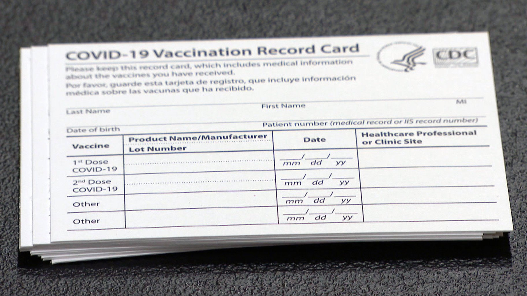 A Chicago pharmacist has been arrested and charged with selling authentic Centers for Disease Control and Prevention COVID-19 vaccination cards on eBa