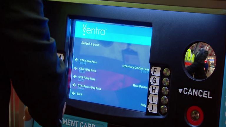ventra vending machine
