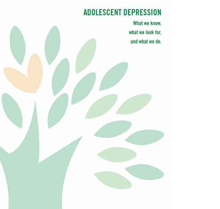 adolescence and teenage depression speak Do you ever wonder whether your irritable or unhappy adolescent might actually be experiencing teen depressionof course, most teens feel unhappy at times and when you add hormone havoc to the many other changes happening in a teen's life, it's easy to see why their moods swing like a pendulum.