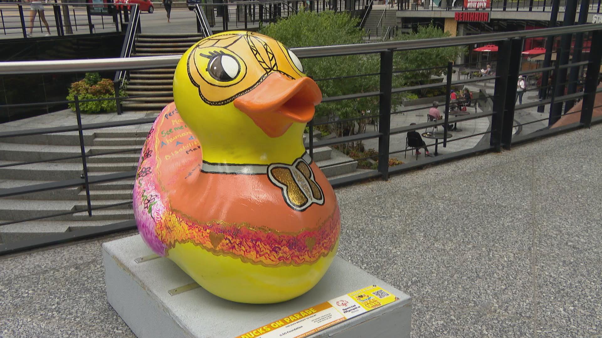 'Ducks on the Mag Mile' Celebrates Special Olympics Illinois